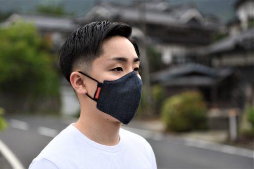 【NEW ITEM】デニムマスク販売開始