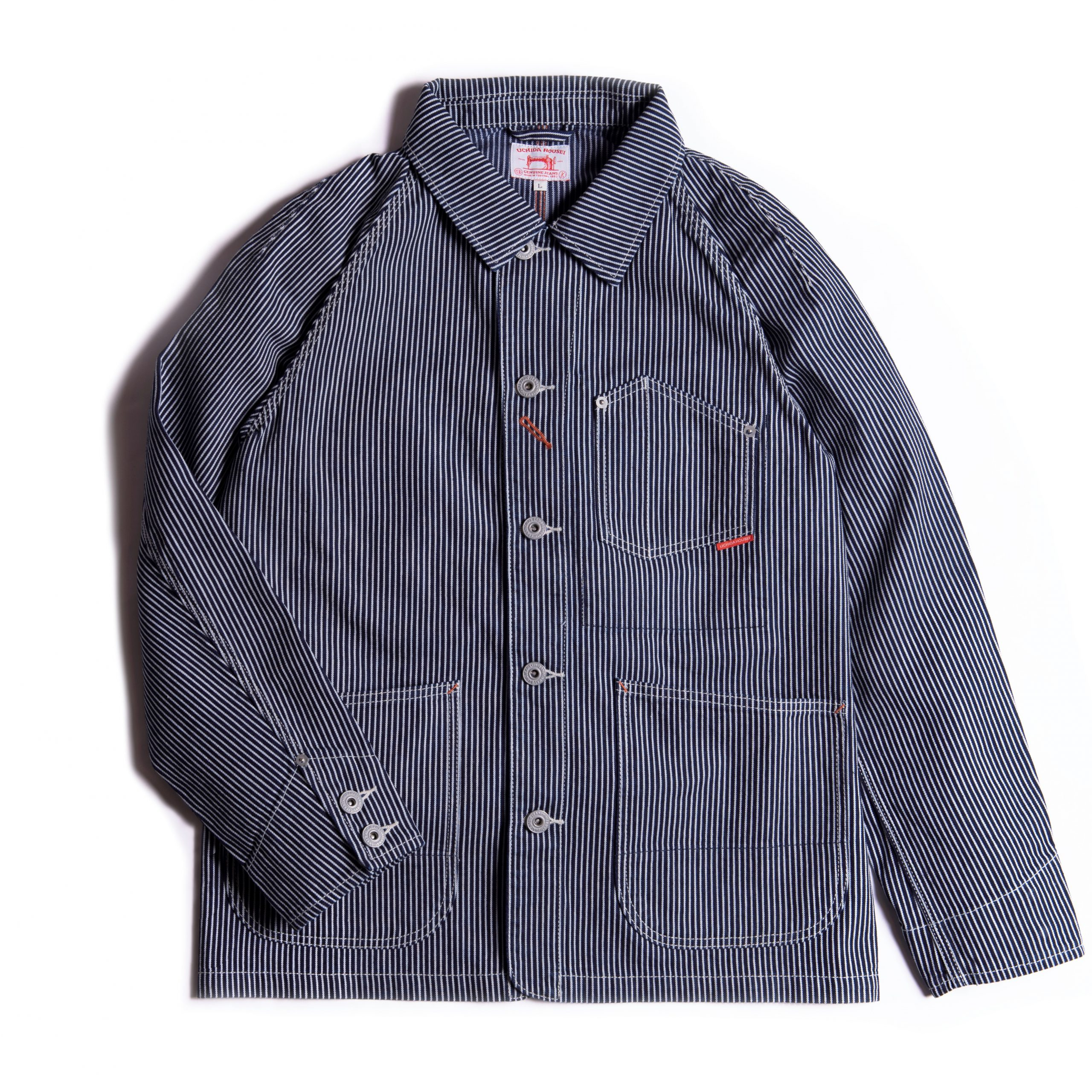 COVERALL HICKORY【カバーオール ヒッコリー】