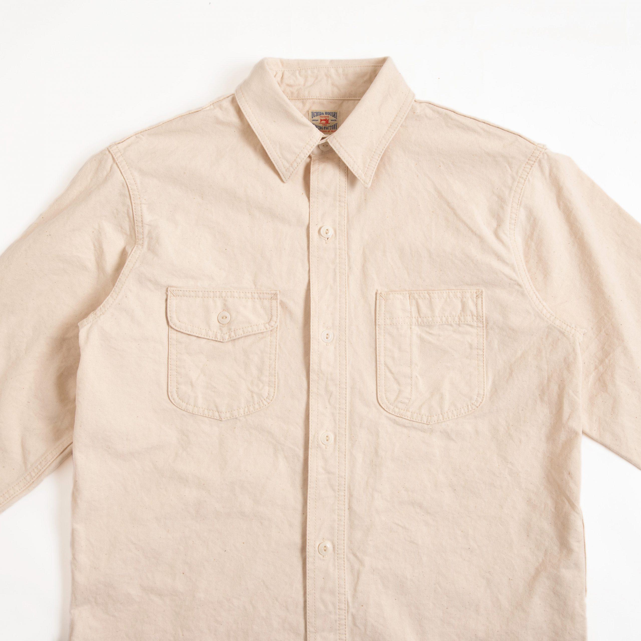 Canvas Work Shirt【帆布ワークシャツ】