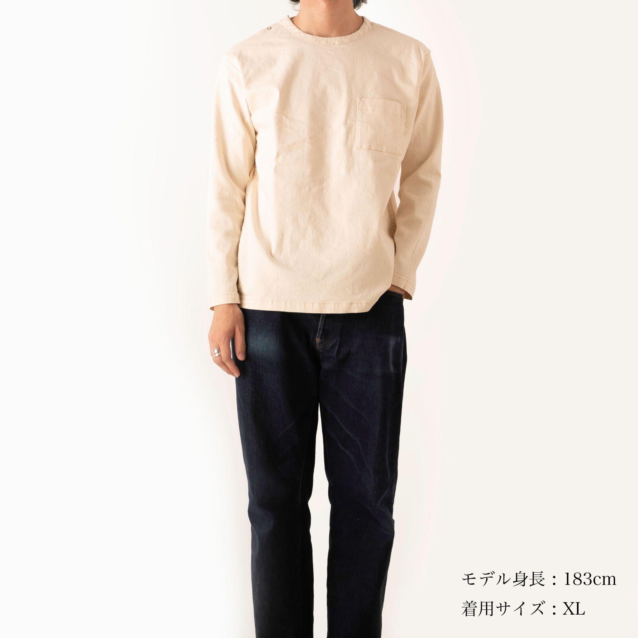 Denim long sleeve T-shirt【デニム ロングスリーブTシャツ】