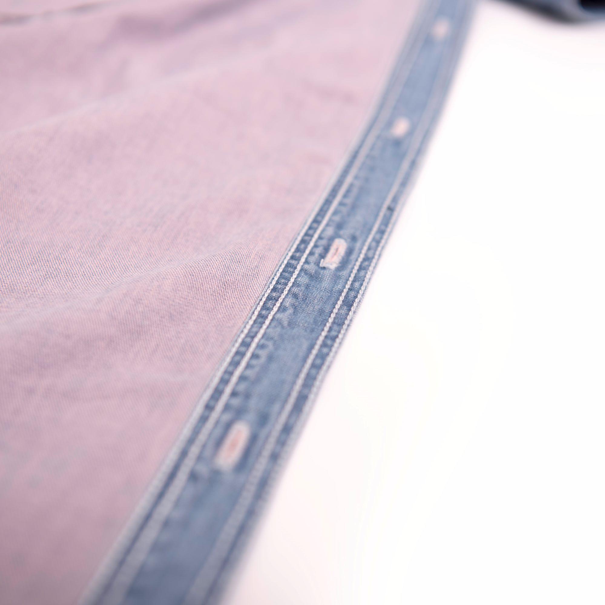 SAKURA denim shirt dress【さくらシャツワンピース】
