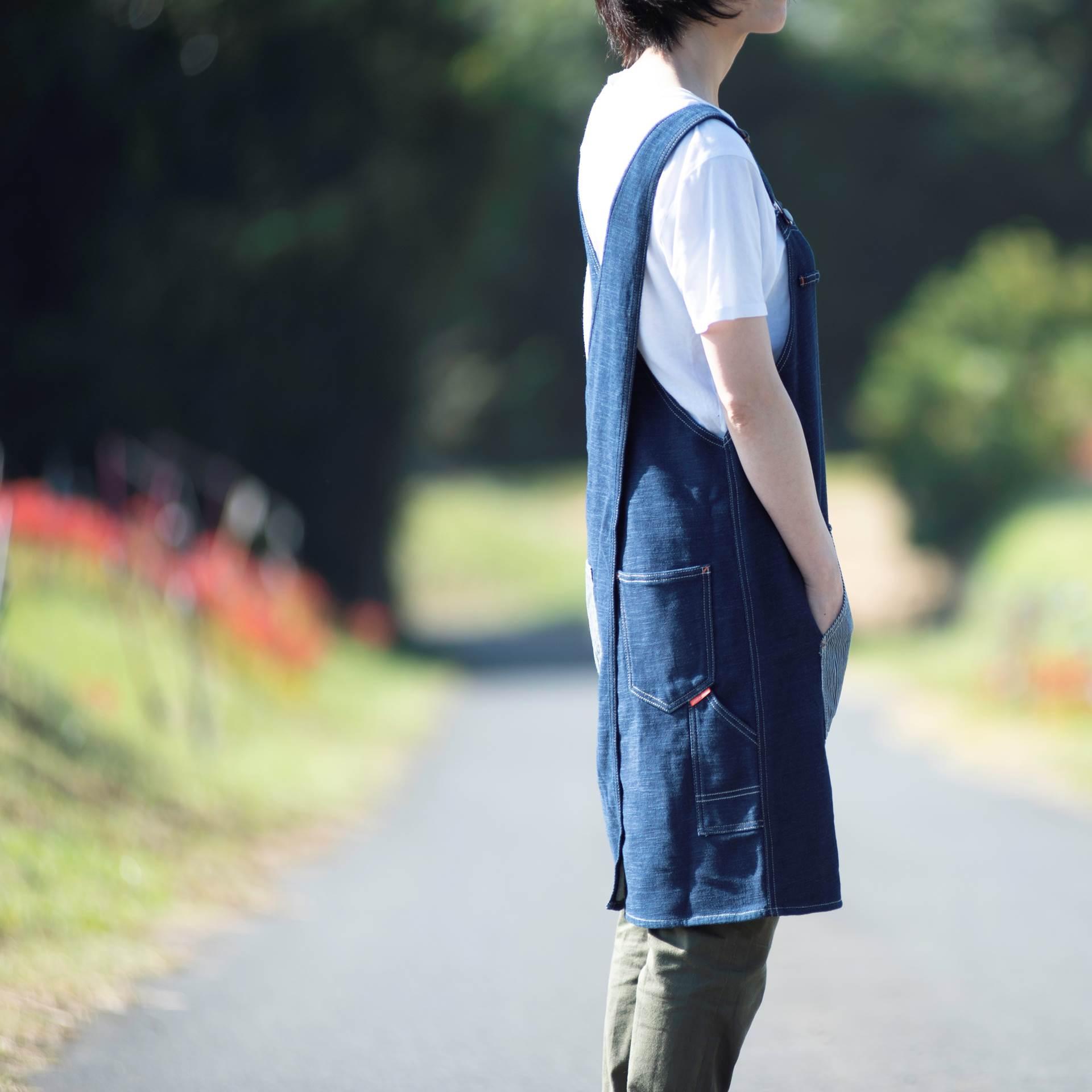 DENIM APRON【デニムエプロン】
